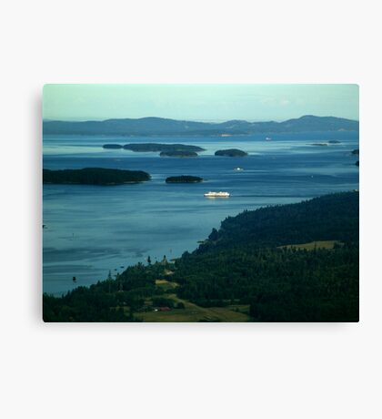 A Sea of Islands Canvas Print