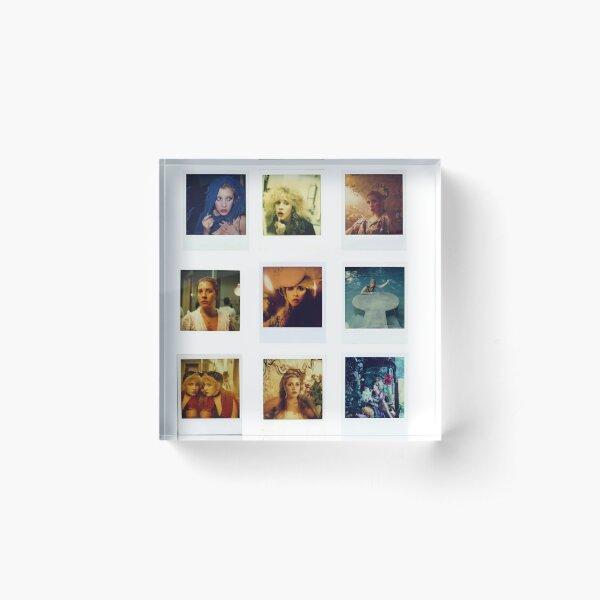 Stevie Polaroids Acrylic Block
