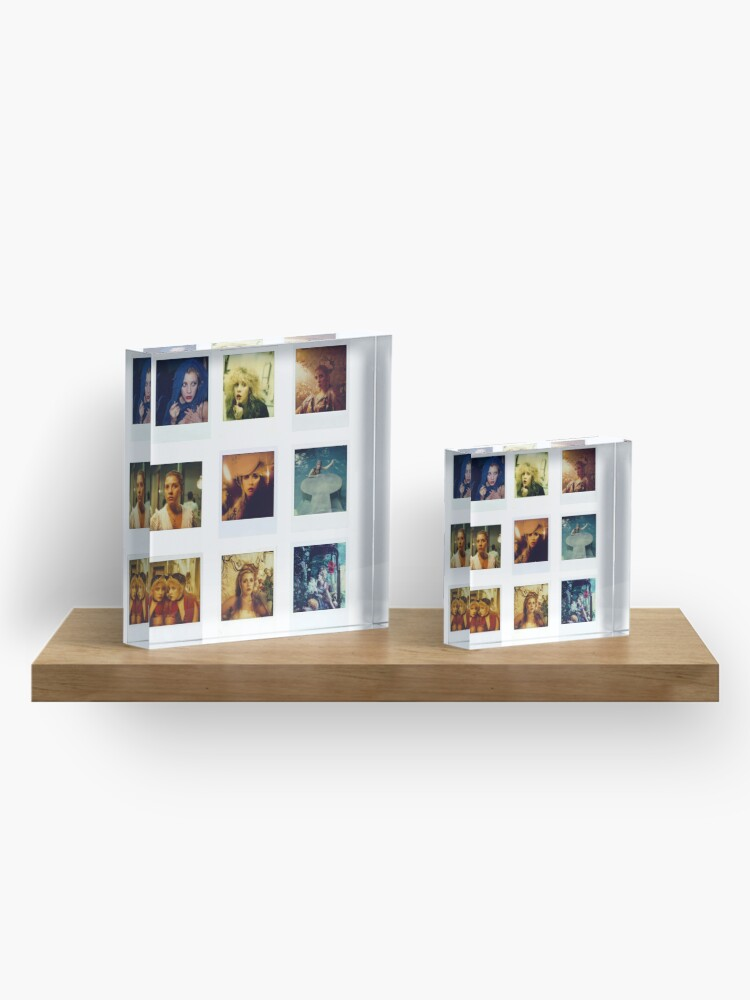 Alternate view of Stevie Polaroids Acrylic Block