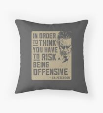 Jordan Peterson Quote Throw Pillow