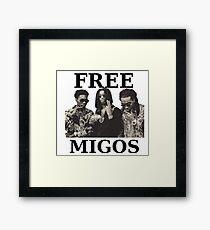 FREE MIGOS Framed Print