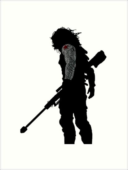 b107907eec205 winter soldier silhouette