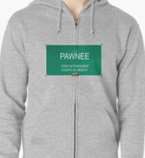 Parks and Rec - City of Pawnee Zipped Hoodie