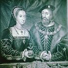 Mary Q of France & Charles Brandon Duke of Suffolk C16 at Brodie Scotland 19840919 0014  by Fred Mitchell