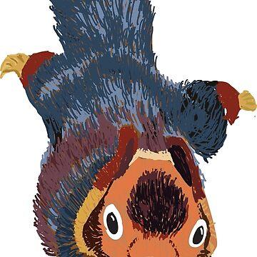 Malabar Giant Squirrel by awkwarddesignco