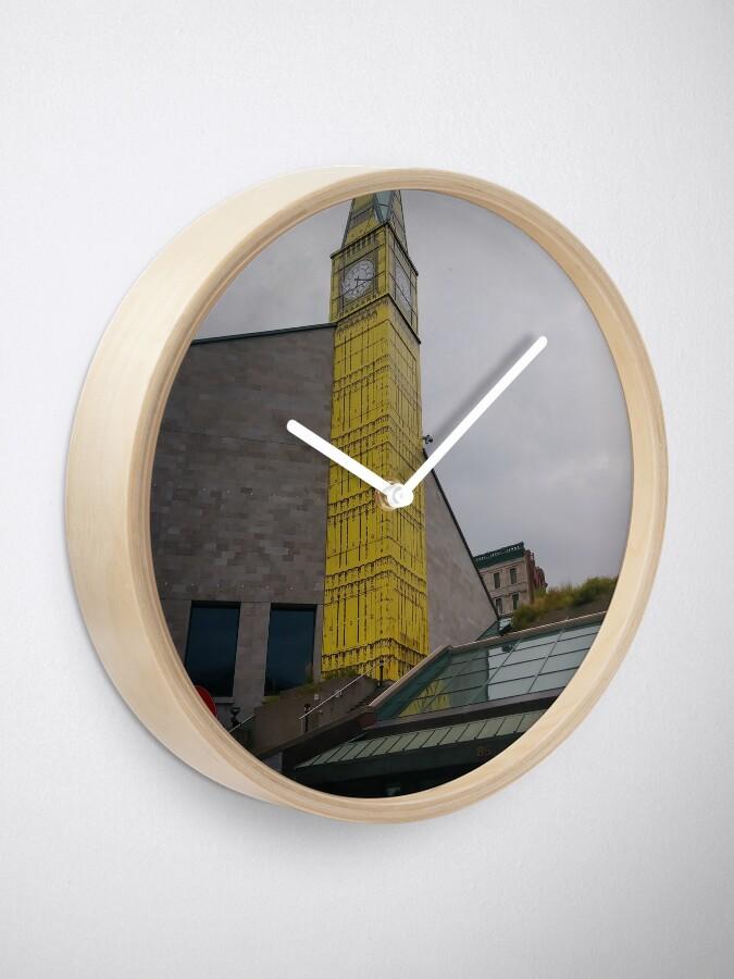 Alternate view of #Quebec, #Canada, Quebec #City, #Streets, #Buildings, #Places, #QuebecCity Clock