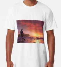 Chomp Sr. Staring Wistfully into the Sunset Long T-Shirt