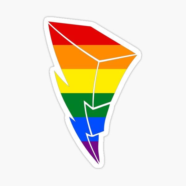 Pride Power Lightning Bolt Sticker