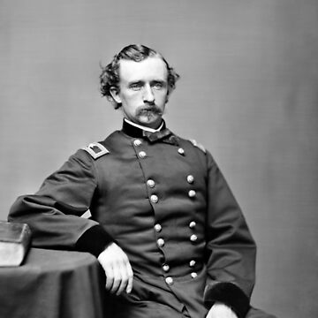 General Custer Portrait - 1864 by warishellstore