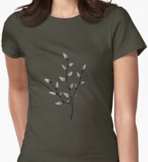 leaf me alone Women's Fitted T-Shirt