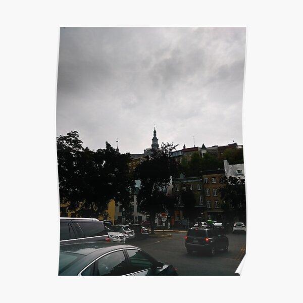 #Quebec, #Canada, Quebec #City, #Streets, #Buildings, #Places, #QuebecCity Poster
