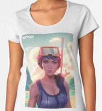 Snorkel Ops Women's Premium T-Shirt