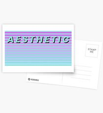 AESTHETIC Sticker Postcards