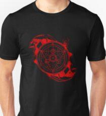 cool metal red Slim Fit T-Shirt