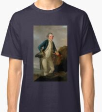 Captain James Cook Portrait Classic T-Shirt