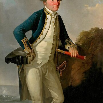 Captain James Cook Portrait by warishellstore