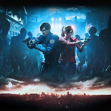 Resident Evil 2 Remake Promo Art by Twinsnakes0000