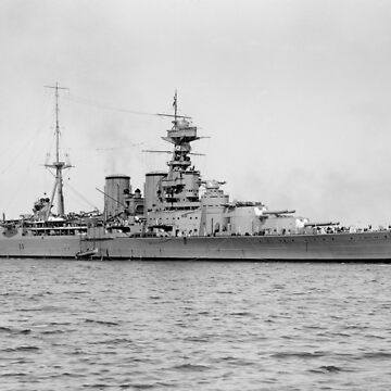 HMS Hood Battlecruiser by warishellstore
