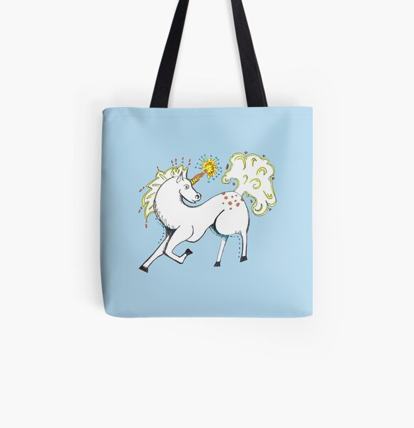 Magical Unicorn All Over Print Tote Bag