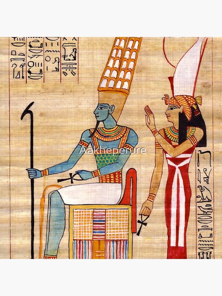 Amun & Mut Receive offerings by Aakheperure