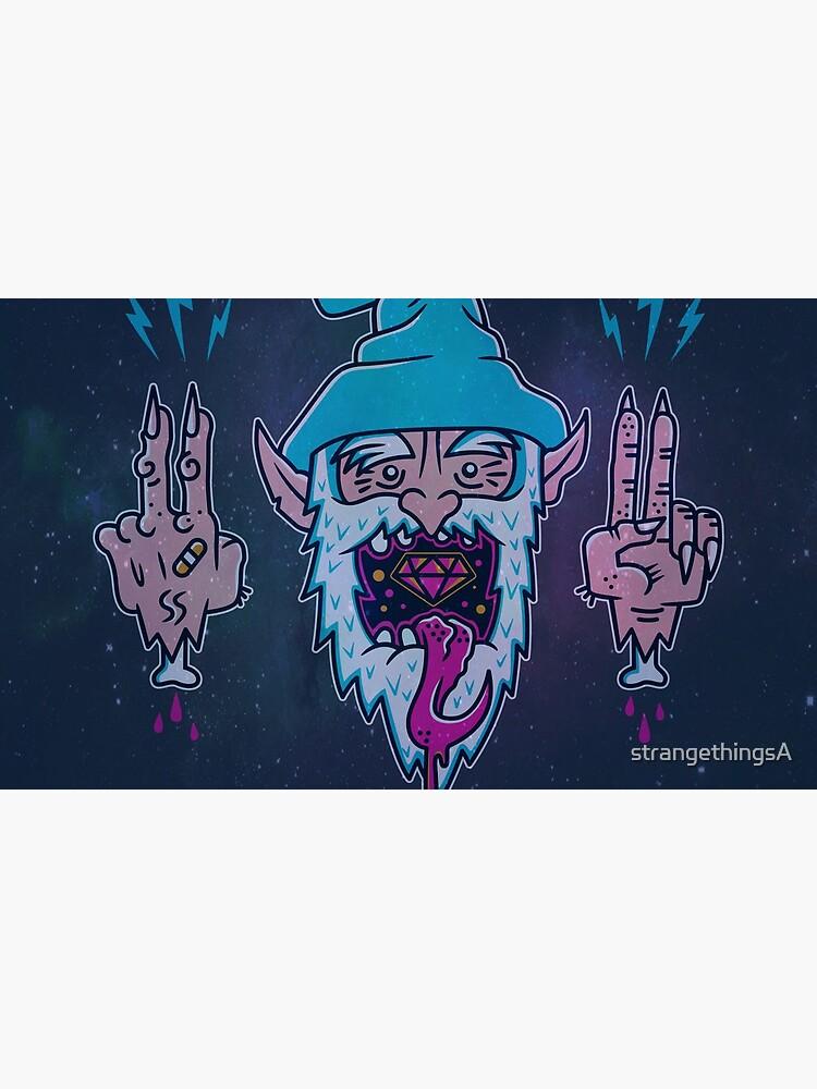 Wizard Breath Galaxy by strangethingsA