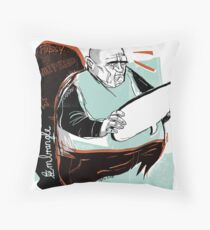 Speechless Throw Pillow