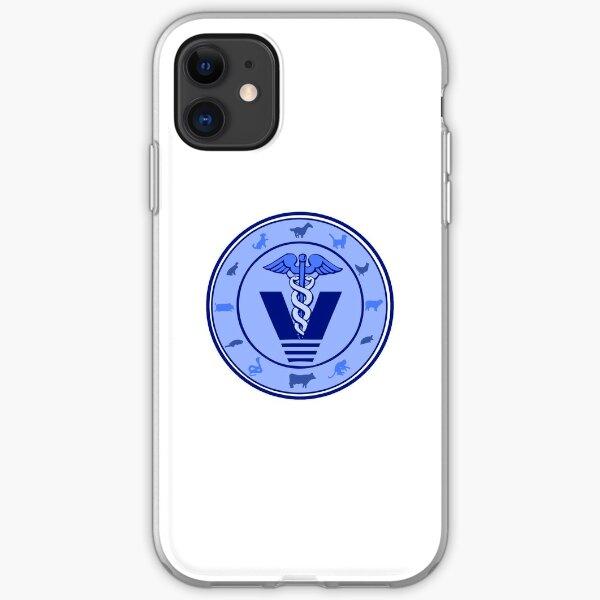 veterinary logo 3 iPhone Soft Case