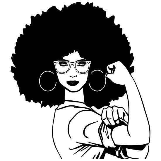 Queenafrican American Black Woman Classy Glamour Nubian