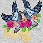 Knight / pigeon flowers ( 3316 Views) by aldona