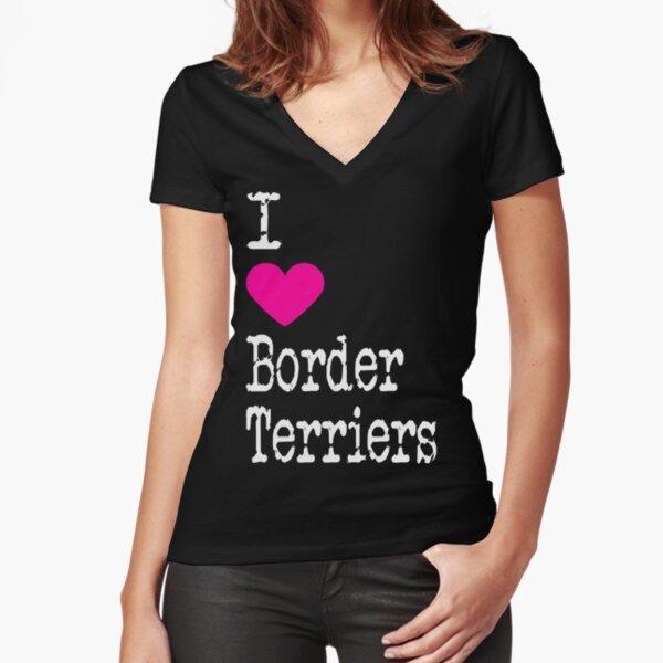 I Love Heart My Border Terrier T-Shirt