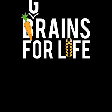 Grains for Life - Vegan Zombie by hadicazvysavaca