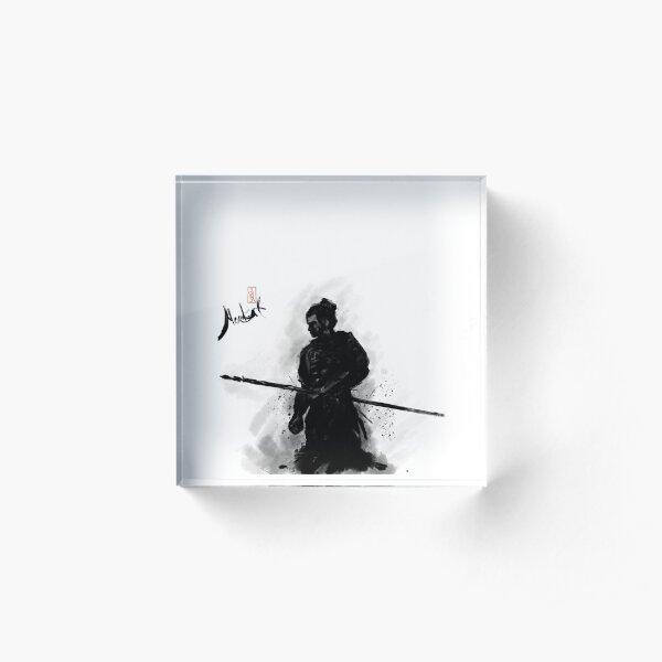 Samurai Warrior 2 Acrylic Block