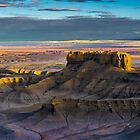 Moonscape Overlook by Alla Gill