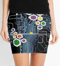 Circuitry  Mini Skirt