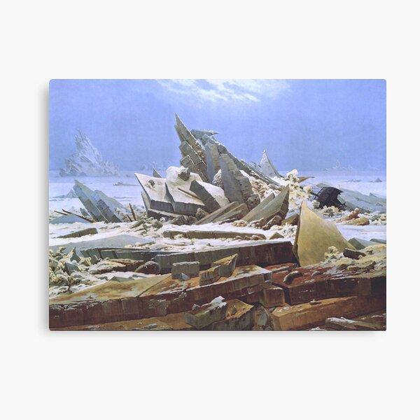 The Sea of Ice - Caspar David Friedrich Canvas Print