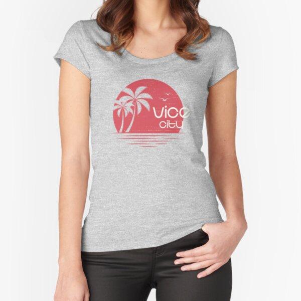 Vice City Sunrise T-shirt échancré