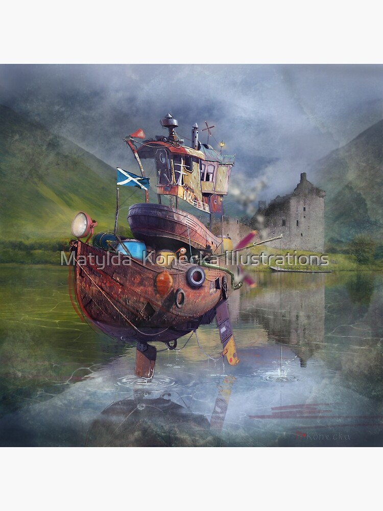 """ Fishing Boat ""  by matylda"
