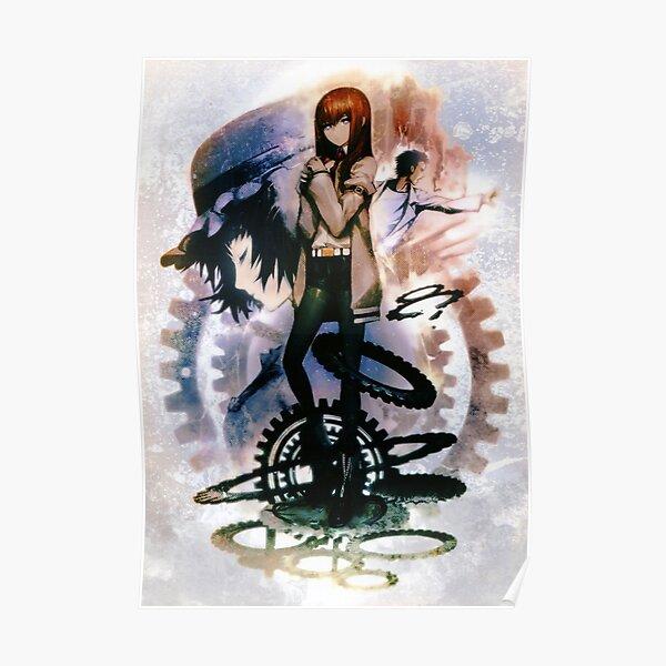Porte Steins - Kurisu Makise, Okabe (Hououin Kyouma), Mayuri Poster