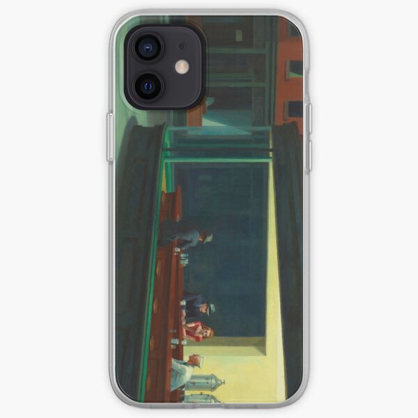 Nighthawks por Edward Hopper Funda blanda para iPhone