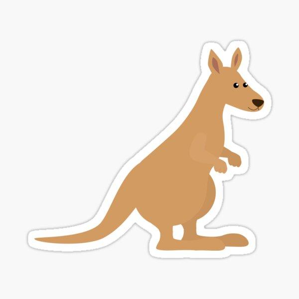 Monstapals Kangaroo Sticker