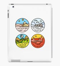 Star Wars — Planets iPad Case/Skin