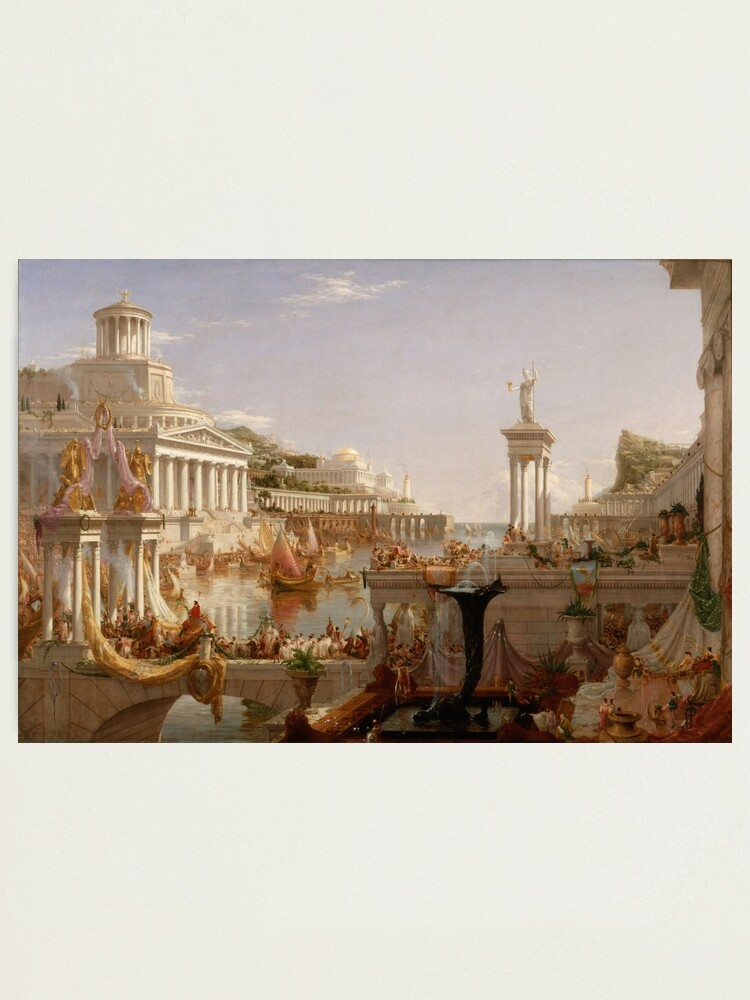Alternate view of The Consummation of Empire - Thomas Cole Photographic Print