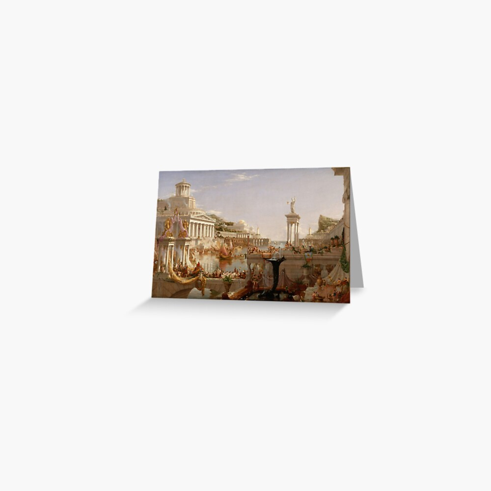 The Consummation of Empire - Thomas Cole Greeting Card