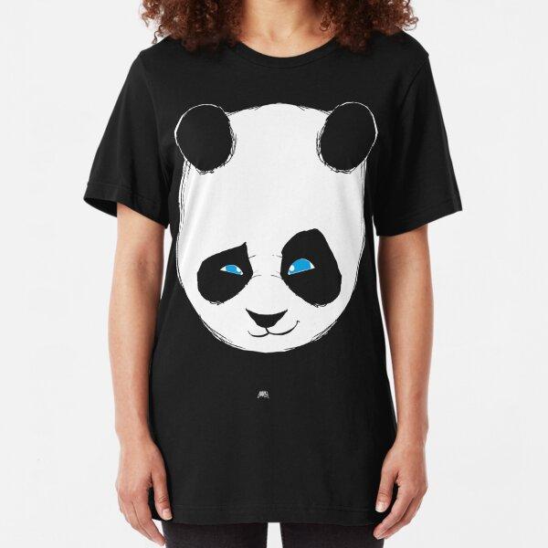 PANDAAAA Slim Fit T-Shirt