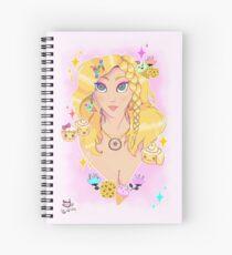 Sweet Girl Spiral Notebook
