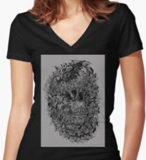 Salvation Women's Fitted V-Neck T-Shirt