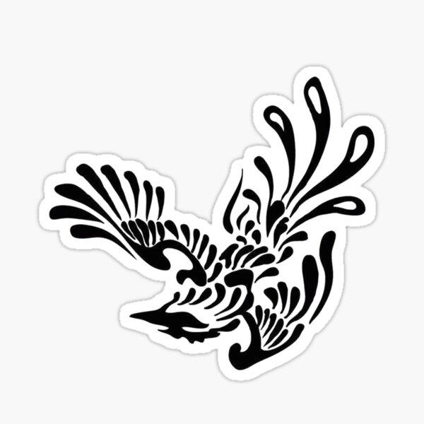 Gahan's Fallen Bird Sticker