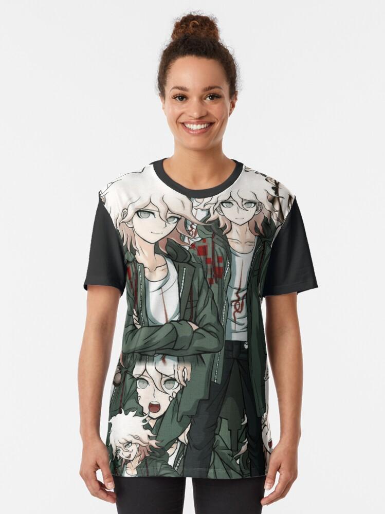 Alternate view of Nagito Nightmare Graphic T-Shirt