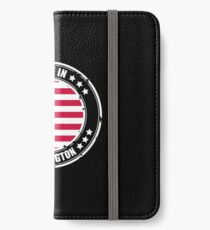 WASHINGTON city, USA iPhone Wallet/Case/Skin