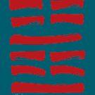 51 Shocking I Ching Hexagram by SpiritStudio